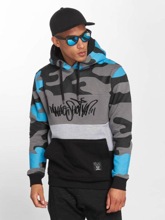 Who Shot Ya? Hoody Devious WW blau