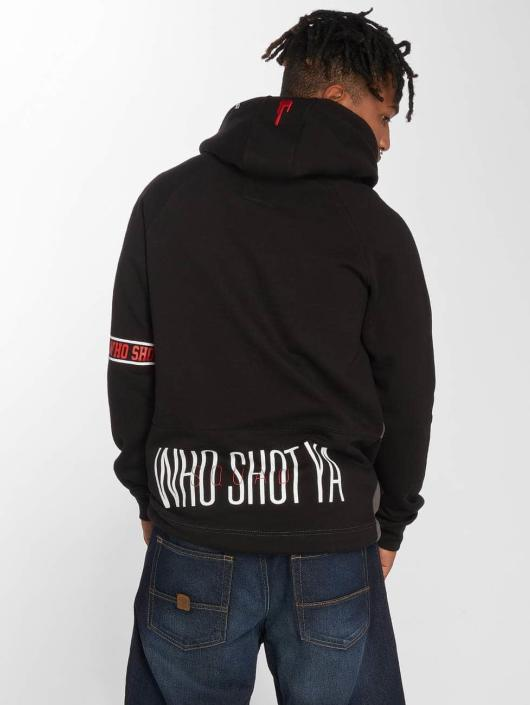Who Shot Ya? Hoody Tizian schwarz