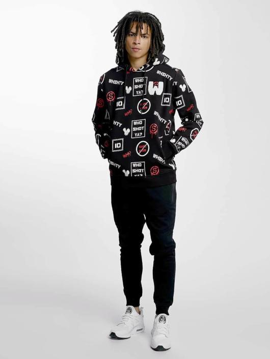 Who Shot Ya? Hoody GameOver zwart