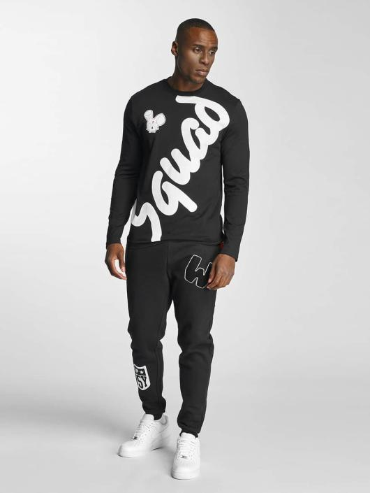 Who Shot Ya? Longsleeve Squad black
