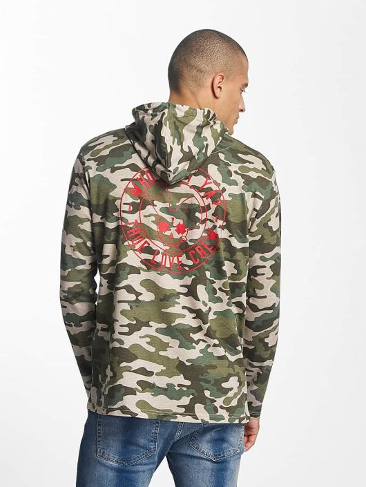 Who Shot Ya? Longsleeve Emis camouflage
