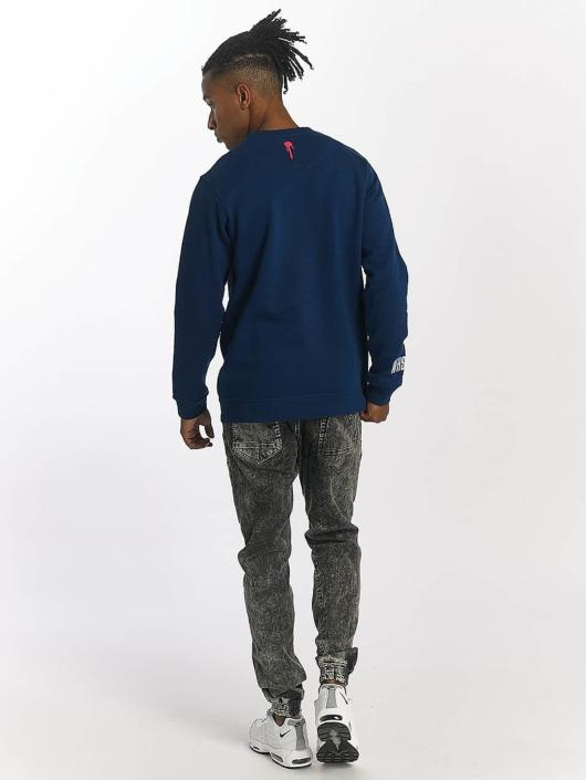 Who Shot Ya? Pullover WHSHTY blue