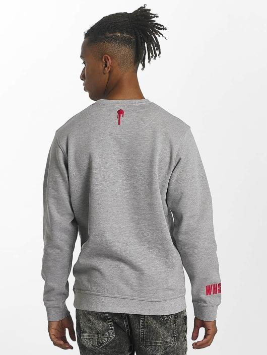 Who Shot Ya? Pullover WHSHTY gray