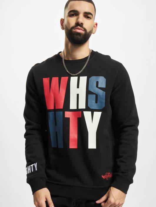 Who Shot Ya? Pullover WHSHTY schwarz