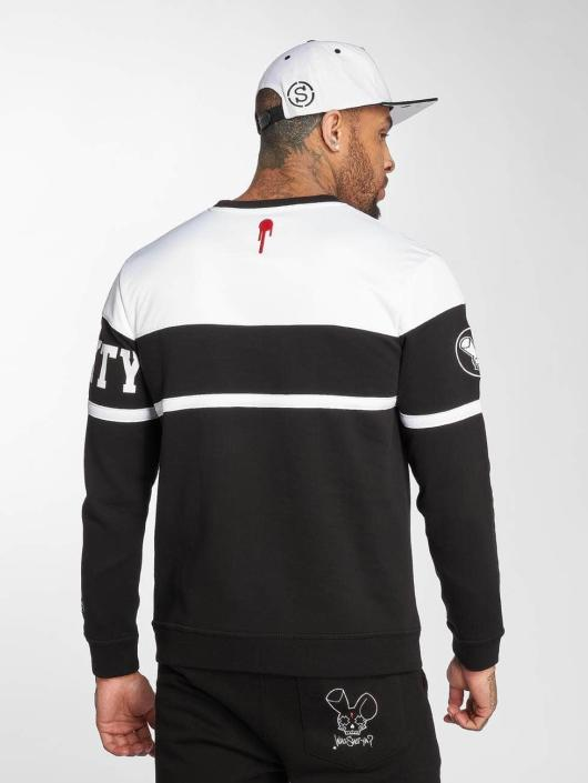 Who Shot Ya? Pullover Lucid Style weiß