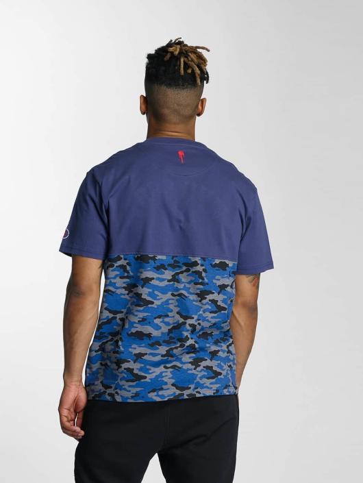 Who Shot Ya? T-Shirt Bluecamou blue