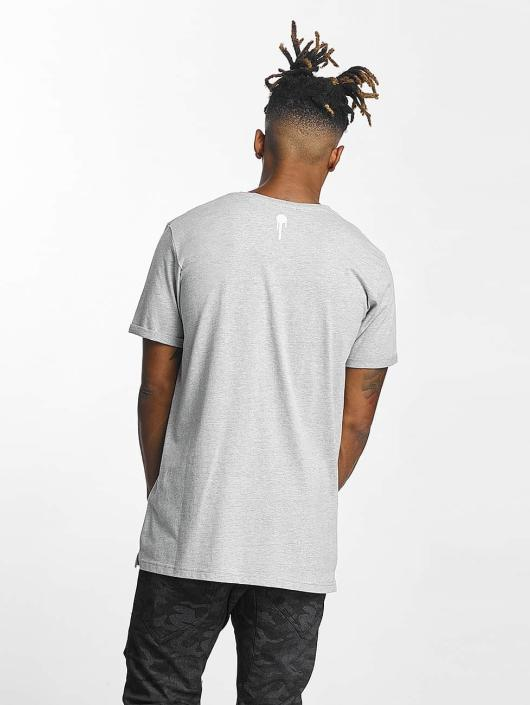 Who Shot Ya? T-Shirt Logo grau