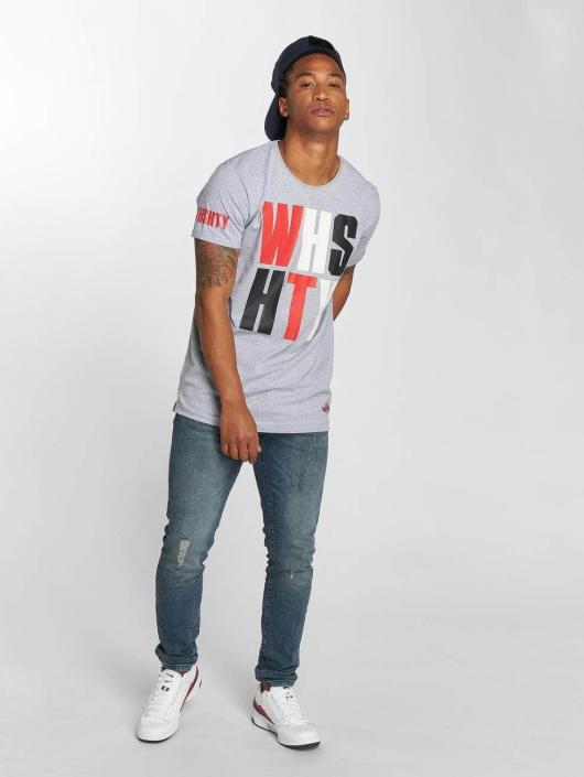 Who Shot Ya? T-Shirt WHSHTY grau