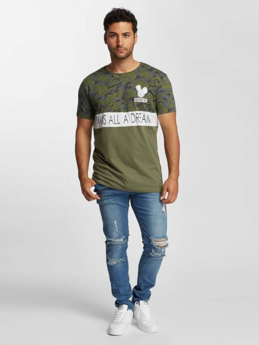 Who Shot Ya? T-Shirt Wonderful olive