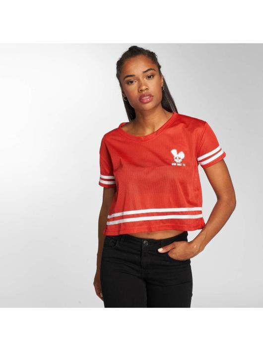Who Shot Ya? T-Shirt Short Mesh red