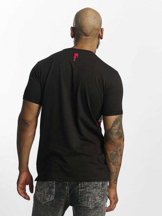 Who Shot Ya? T-Shirt Font schwarz