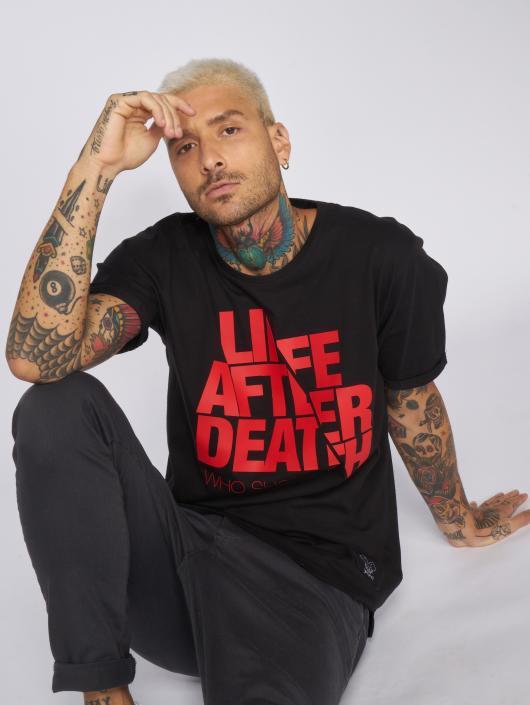 Who Shot Ya? T-Shirt Life after death schwarz
