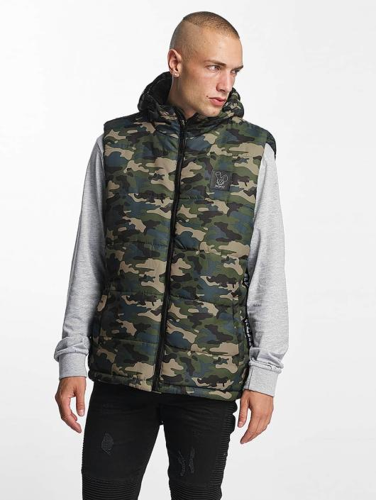 Who Shot Ya? Weste BigWho Quilted grün