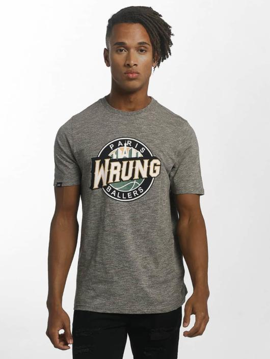 Wrung Division Футболка Ballers серый
