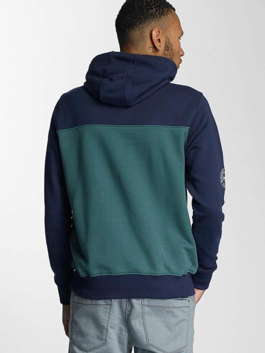 Wrung Division Bluzy z kapturem Dem zielony