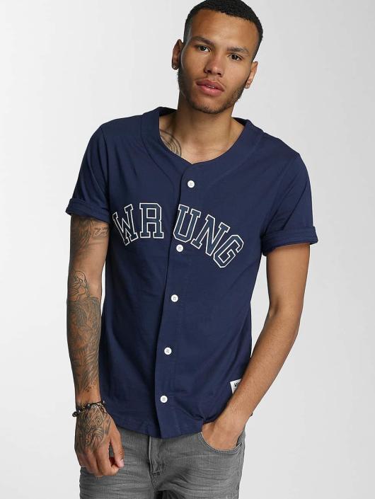 Wrung Division Hemd Hitman Baseball blau