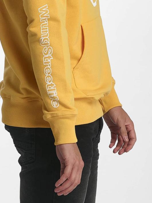 Wrung Division Hoodie Vintage gul