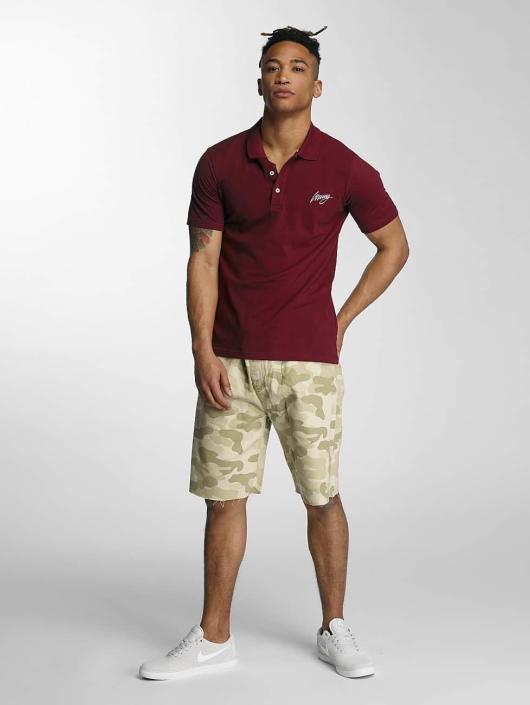 Wrung Division Koszulki Polo Signature czerwony