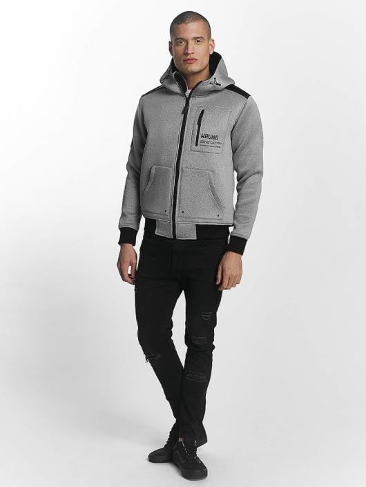 Wrung Division Lightweight Jacket Tekk Winter gray