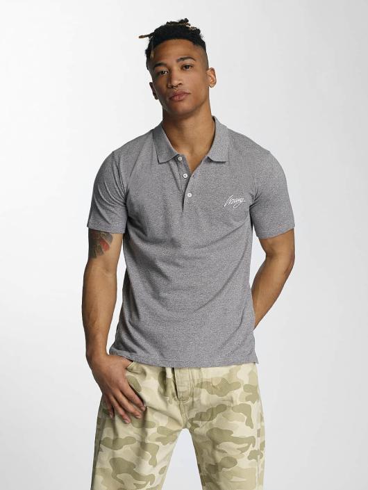 Wrung Division Poloshirt Signature gray