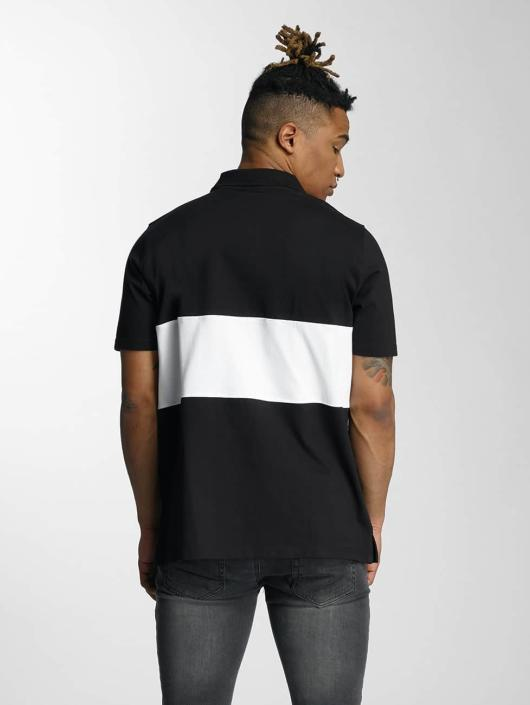 Wrung Division Poloshirt Sport schwarz
