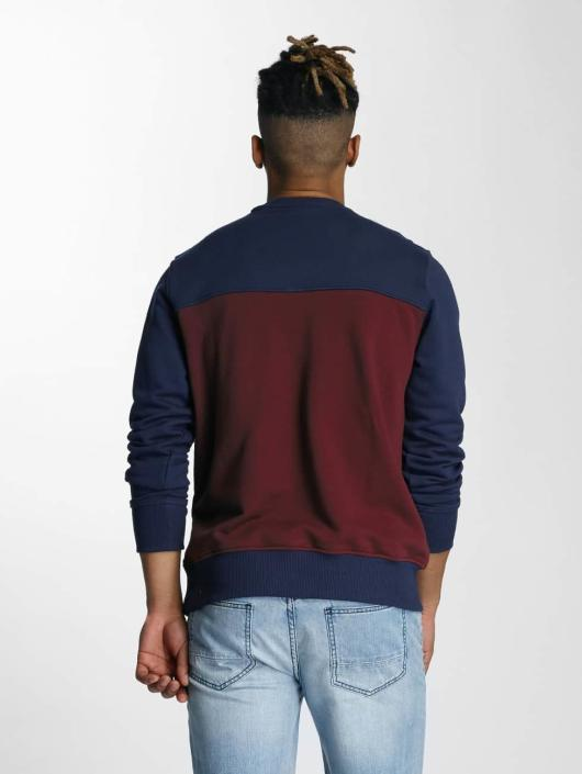 Wrung Division Pullover Posh blue