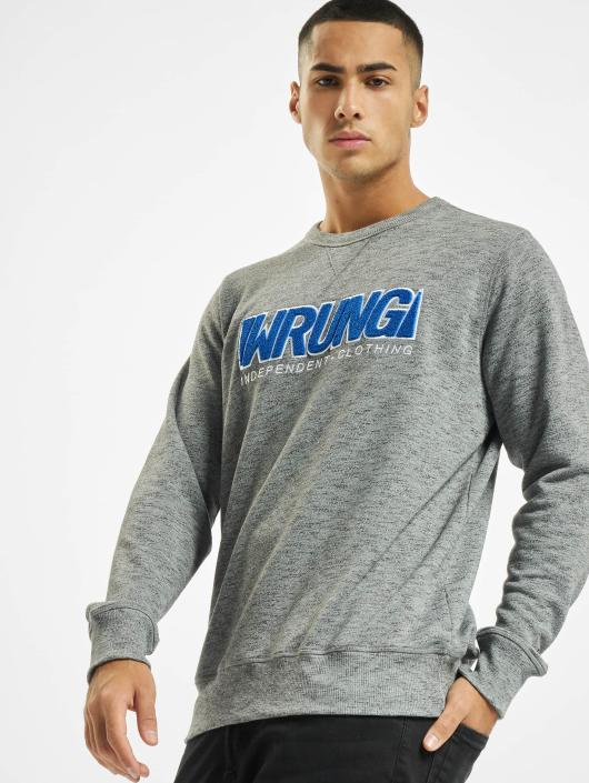 Wrung Division Pullover Step gray