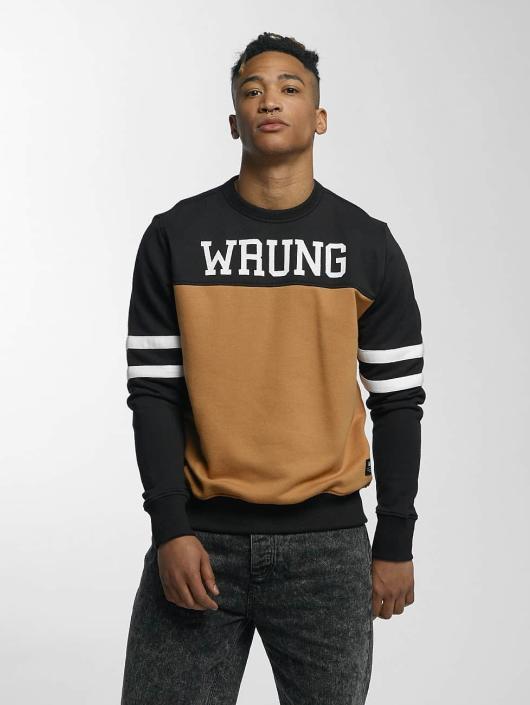 Wrung Division Pullover Team schwarz
