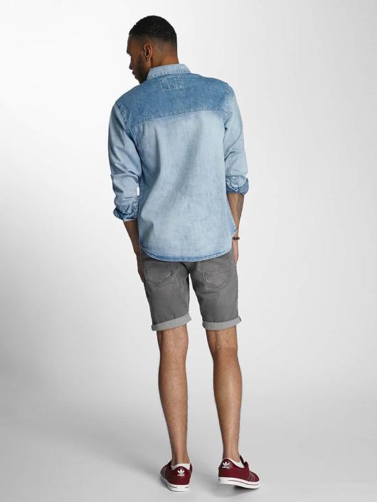 Wrung Division Skjorter Kirk blå