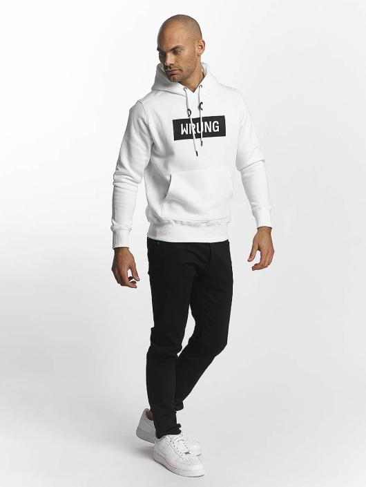 Wrung Division Sweat capuche Boxter blanc
