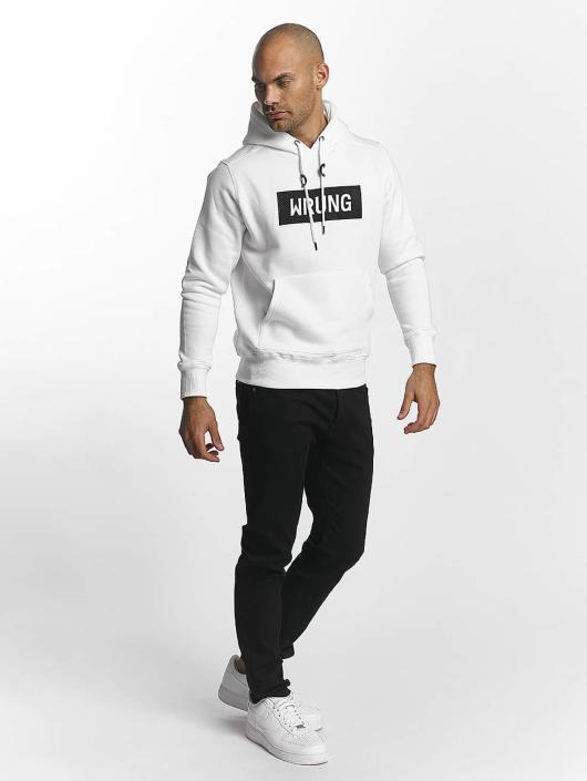 Wrung Division   Boxter blanc Homme Sweat capuche 451656 919d8cb0965a