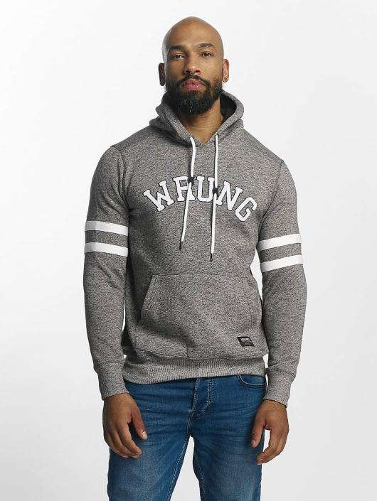 Wrung Division Sweat capuche State gris