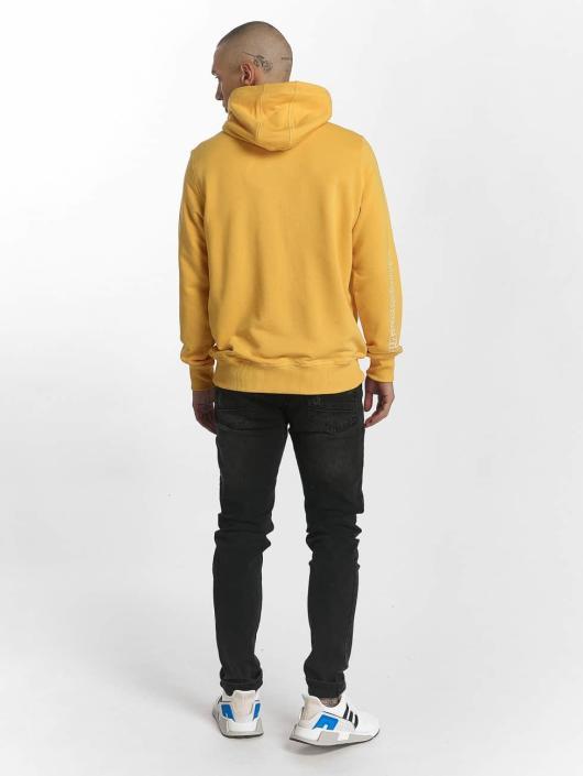 Wrung Division Sweat capuche Vintage jaune