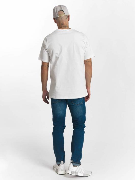 Wrung Division T-shirt Sign Camo bianco