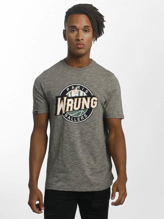 Wrung Division T-Shirt Ballers gray