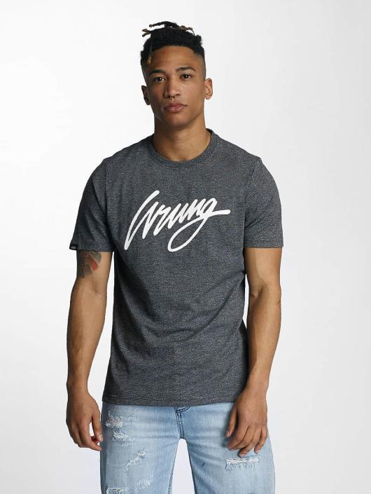 Wrung Division T-Shirty Signature czarny