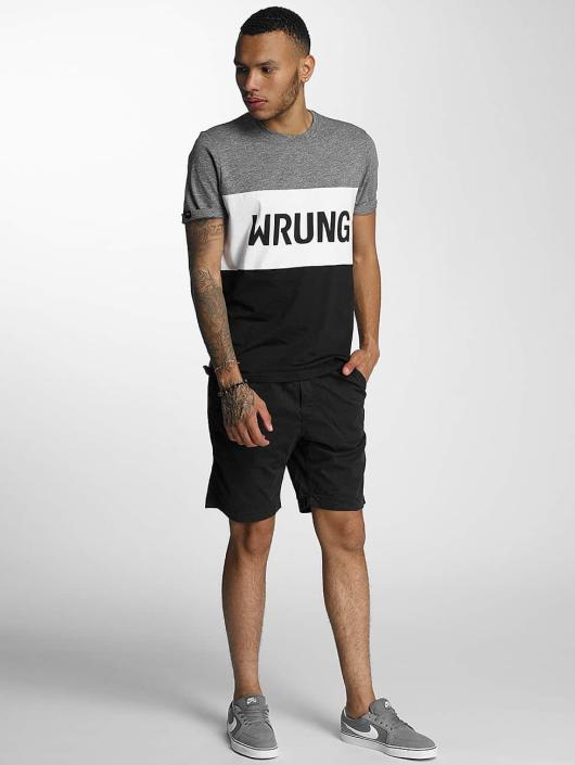 Wrung Division T-Shirty Russell czarny
