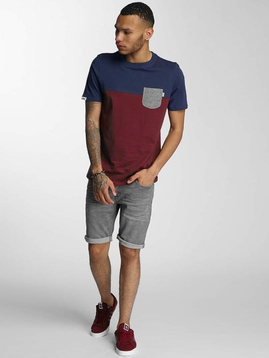 Wrung Division T-Shirty Pocket czerwony