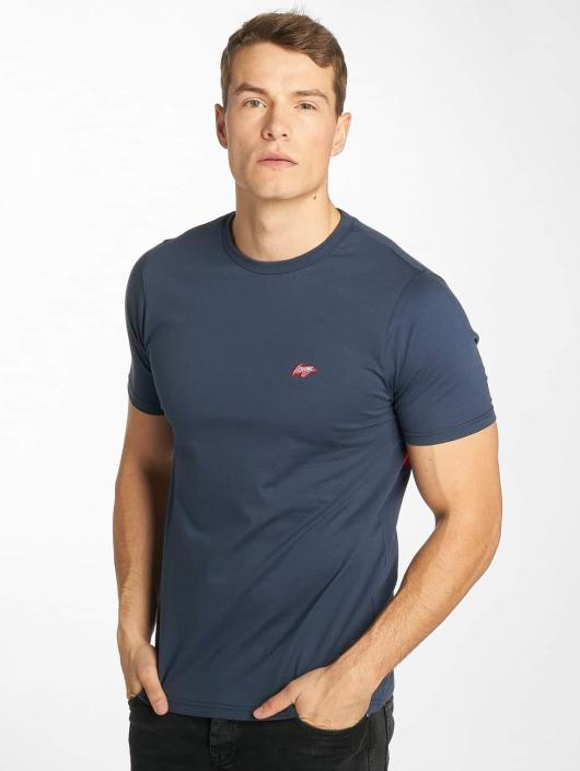Wrung Division T-Shirty Backer niebieski