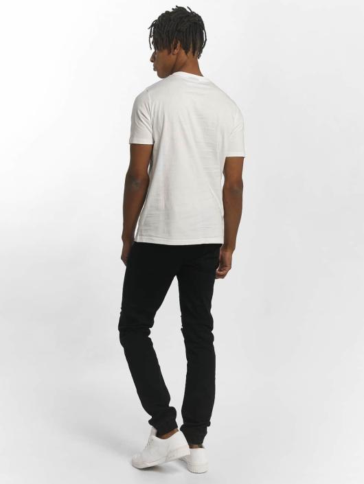 Wrung Division T-skjorter Dist hvit