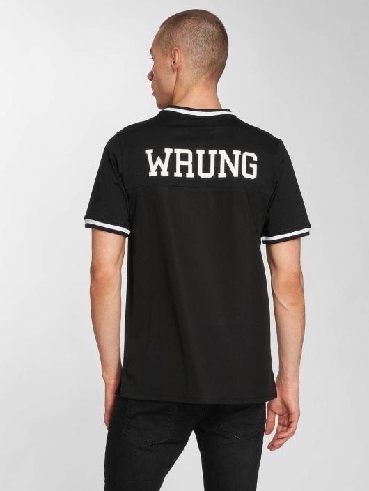 Wrung Division T-skjorter Raider svart