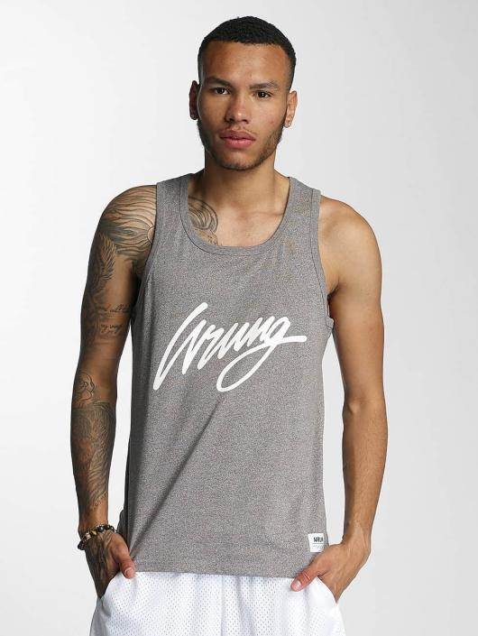Wrung Division Tank Tops Signed grau