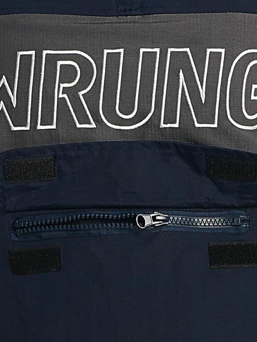 Wrung Division Veste mi-saison légère Mist bleu