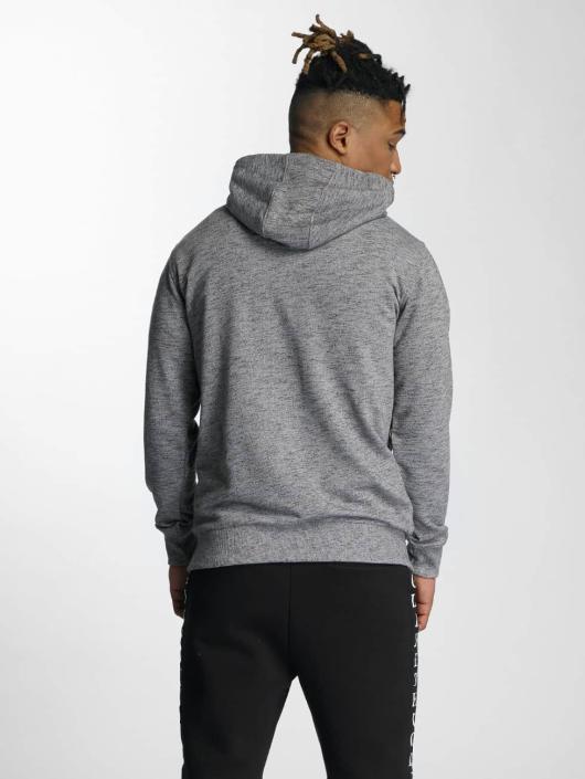 Wrung Division Zip Hoodie Original grå