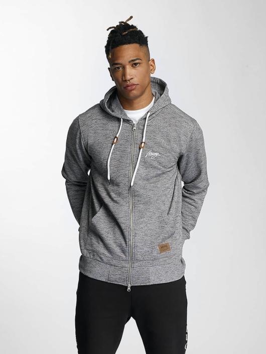 Wrung Division Zip Hoodie Original gray