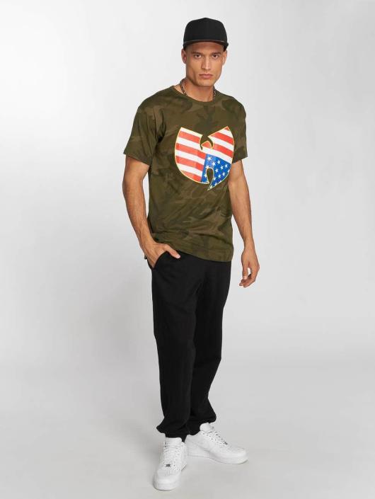 Wu-Tang Camiseta American Camo camuflaje
