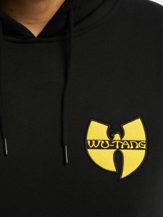 Wu-Tang Hoodie Chest Logo black