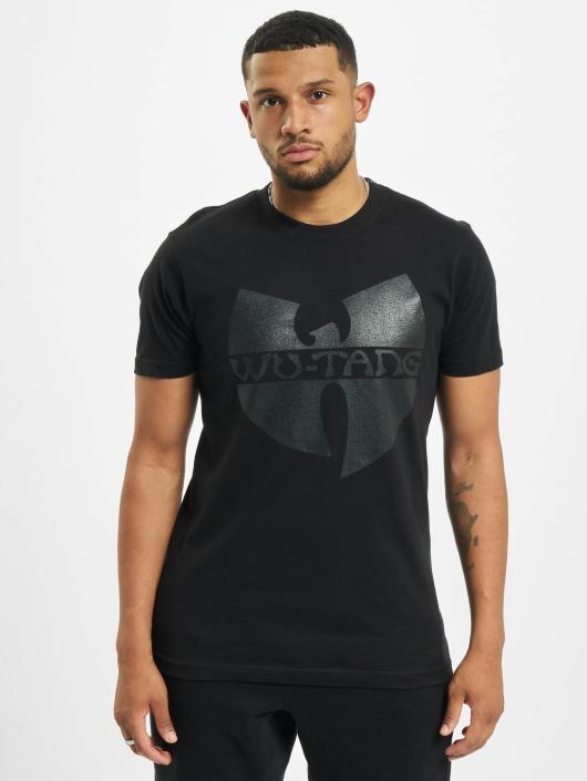 Wu-Tang T-Shirt Black Logo noir