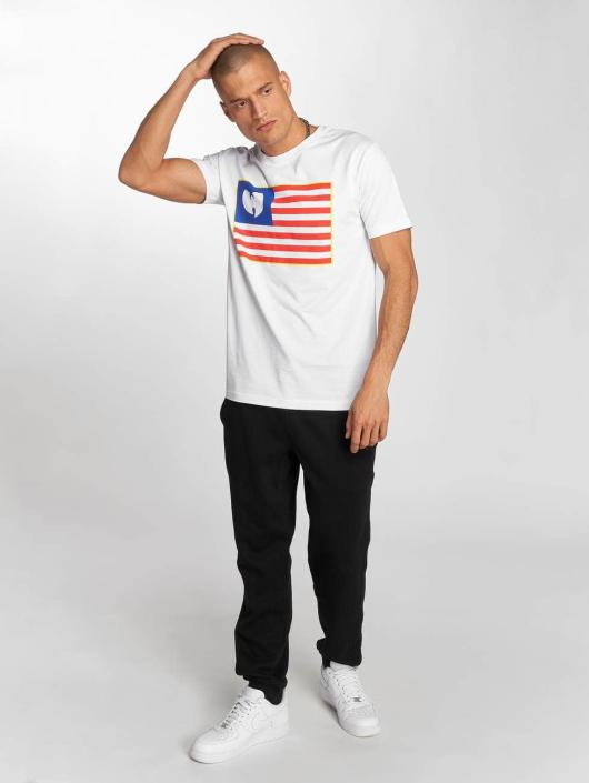 Wu-Tang T-skjorter Flag hvit