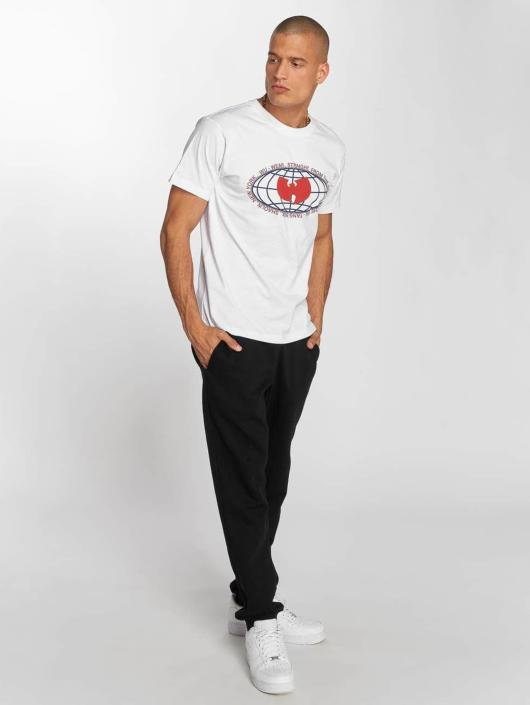 Wu-Tang T-skjorter Globe Logo hvit